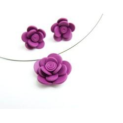 Purple lady - květinový set