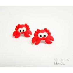Krabi - ocelové pecky červené