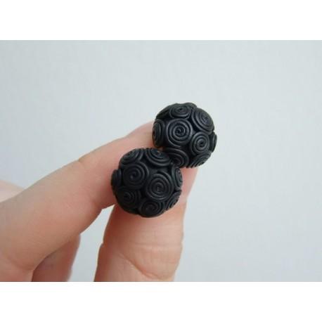 Spirálky černé