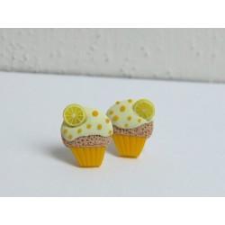 Citronové cupcake