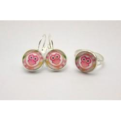 Sovičky – růžové s proužky