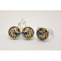 Motýlek – modrý, elegantní