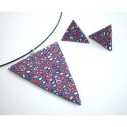 Mozaikový trojúhelníkový set