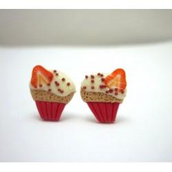 Cupcake jahoda