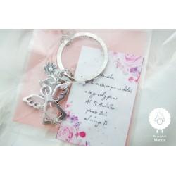 Klíčenka Andělka 1 - personalizované balení