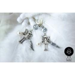 Andělka s křidélkem a perličkou 464808
