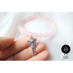 Růženín - náramek s andělkou