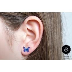 Motýlek – fialovomodrý