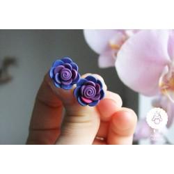 Mini fialkové kytičky