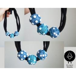 Mozaikový náhrdelník korále