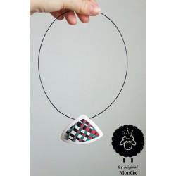 Dots korálový náhrdelník