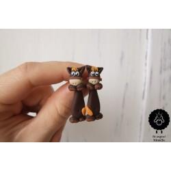 Falešný roztahovák - koně (ocel)