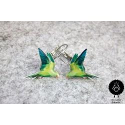 Papoušek zelený