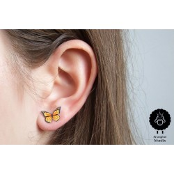 Motýlek – oranžový