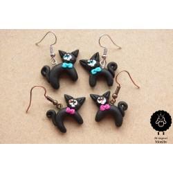 Kočky s mašličkou (2 barvy na výběr)