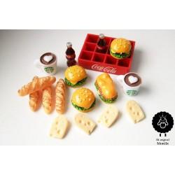 Miniaturní jídlo pro panenky Barbie 2