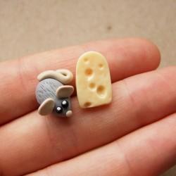 Myška a sýr