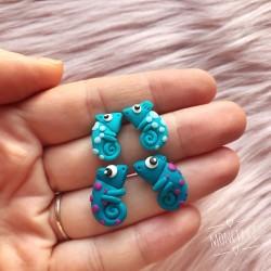 Chameleoni ocel Modrý a Modřejší
