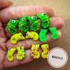 VÝPRODEJ Chameleoni náušnice