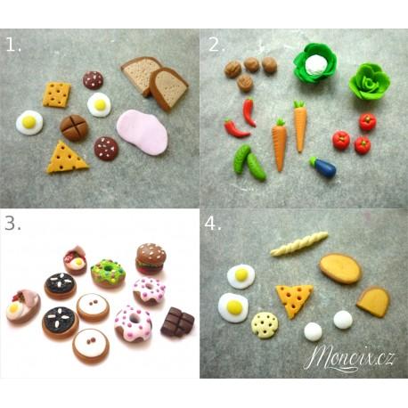 Miniaturní jídlo pro panenky Barbie 4