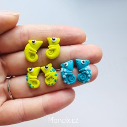 Chameleoni náušnice